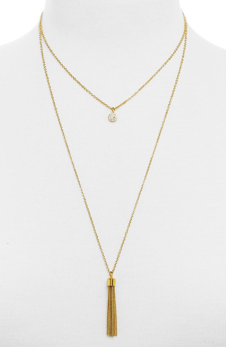 BAUBLEBAR 'Chacha' Layered Necklace, Main, color, 710