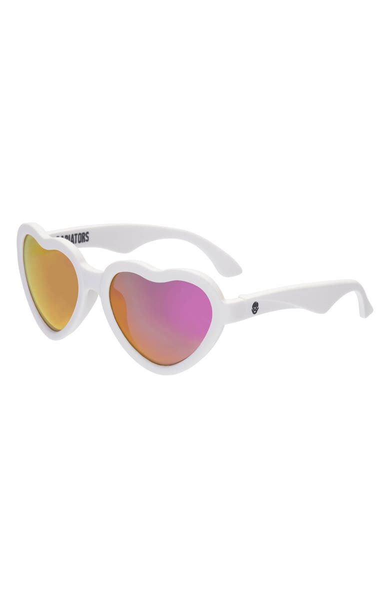 BABIATORS Blue Series Polarized Heart Shaped Sunglasses, Main, color, THE SWEETHEART