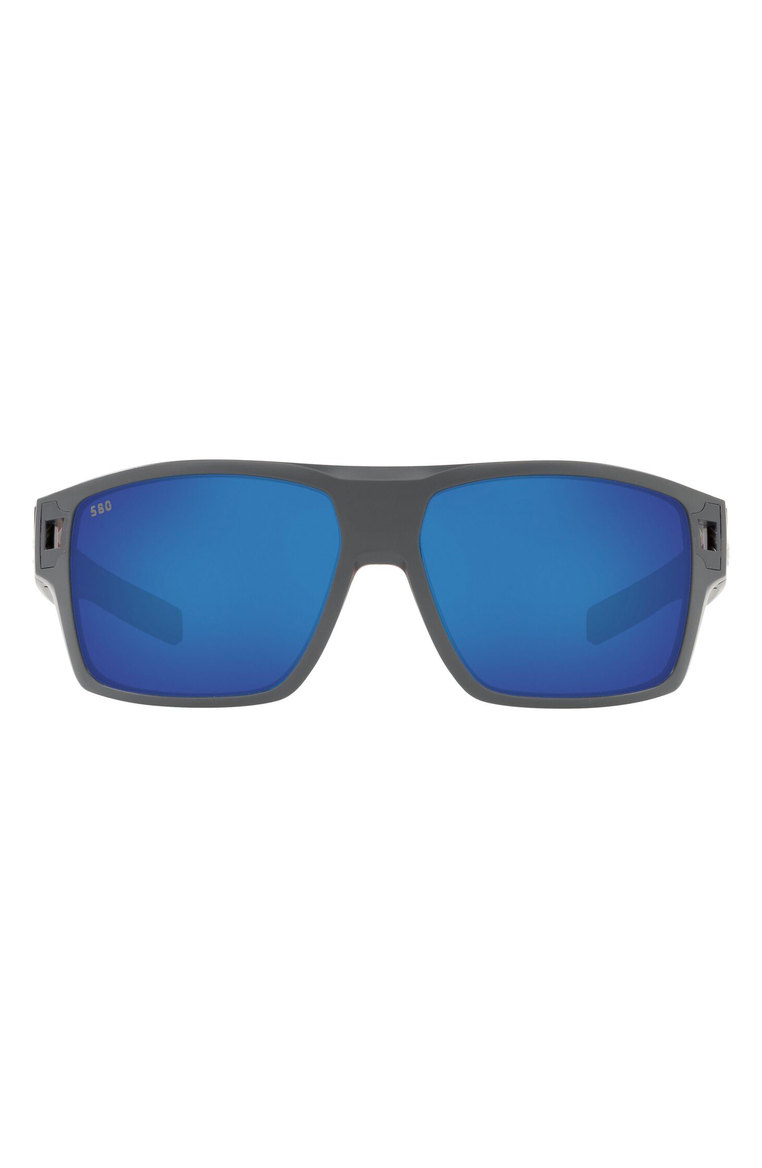 62mm Square Sunglasses