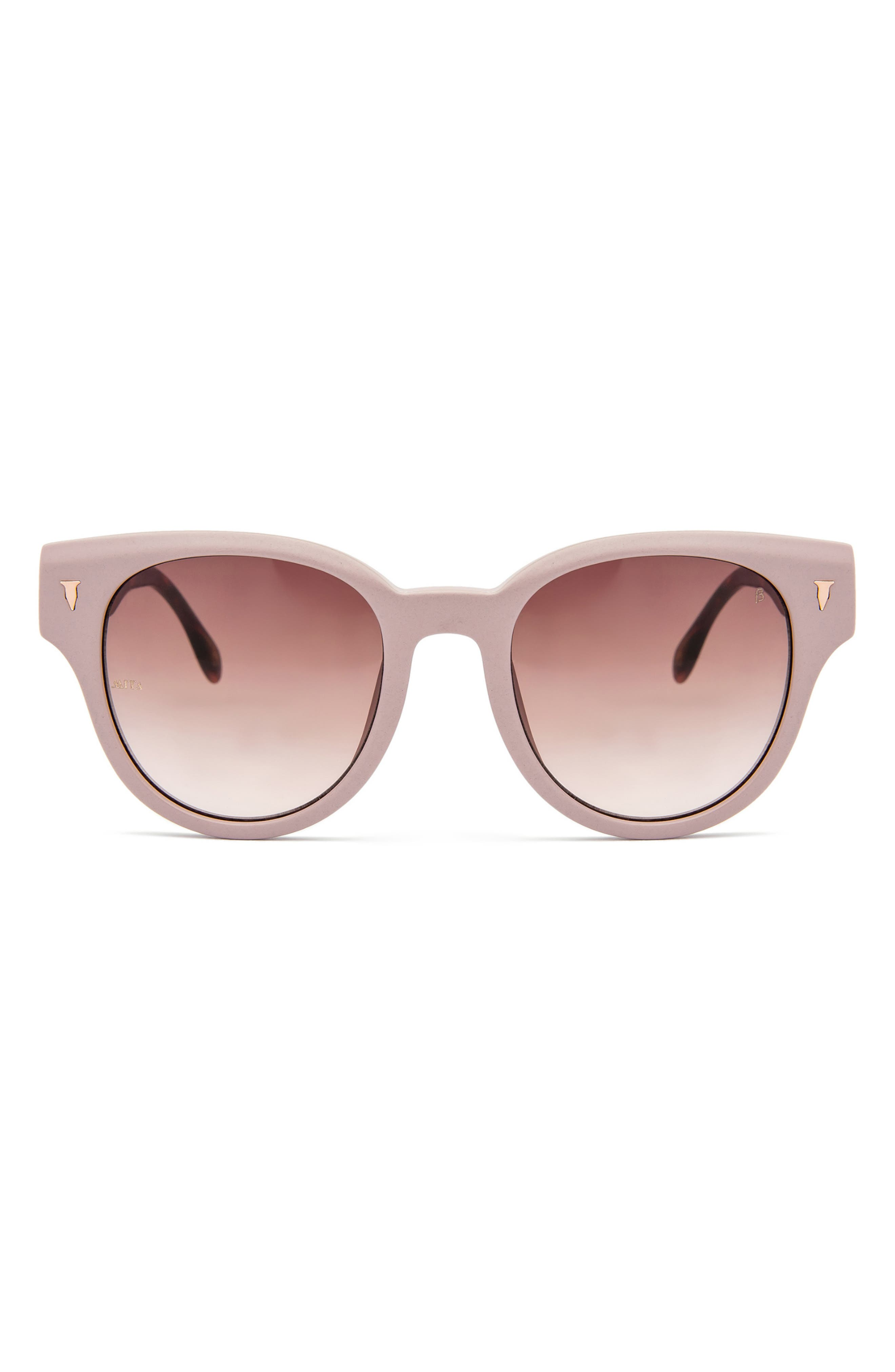 Brickell 50mm Round Sunglasses