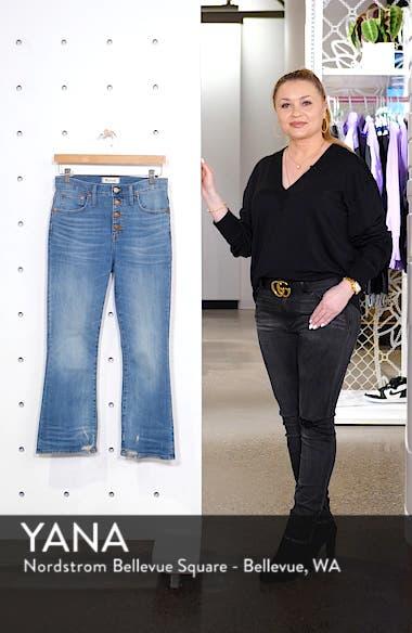 Cali Button Fly Demi Bootcut Jeans, sales video thumbnail