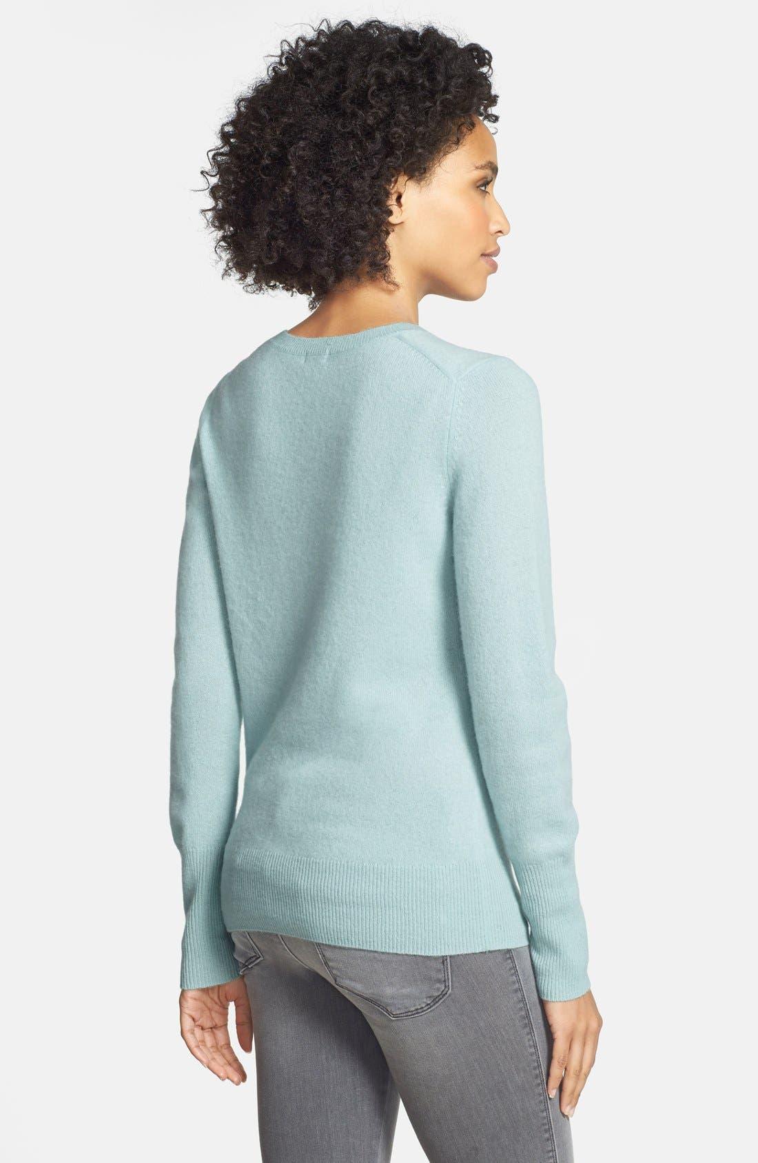 ,                             Cashmere V-Neck Sweater,                             Alternate thumbnail 57, color,                             450