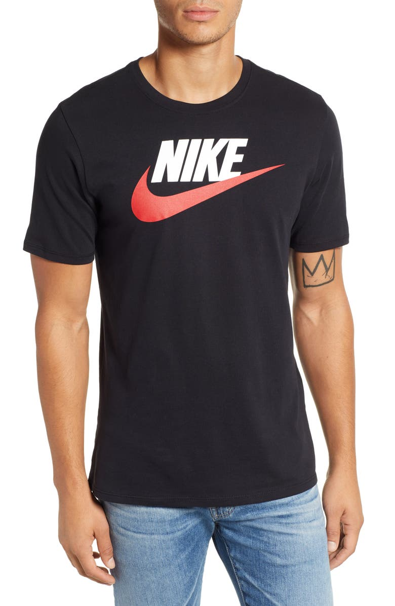 NIKE 'Tee-Futura Icon' Graphic T-Shirt, Main, color, 018