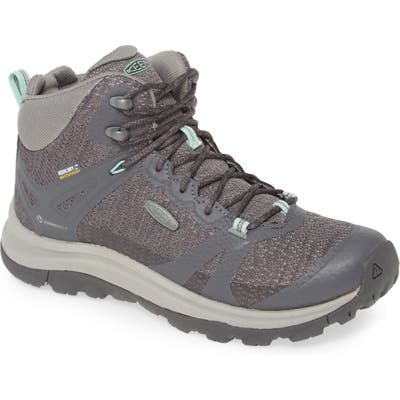Keen Terradora Ii Waterproof Winter Hiking Boot, Grey