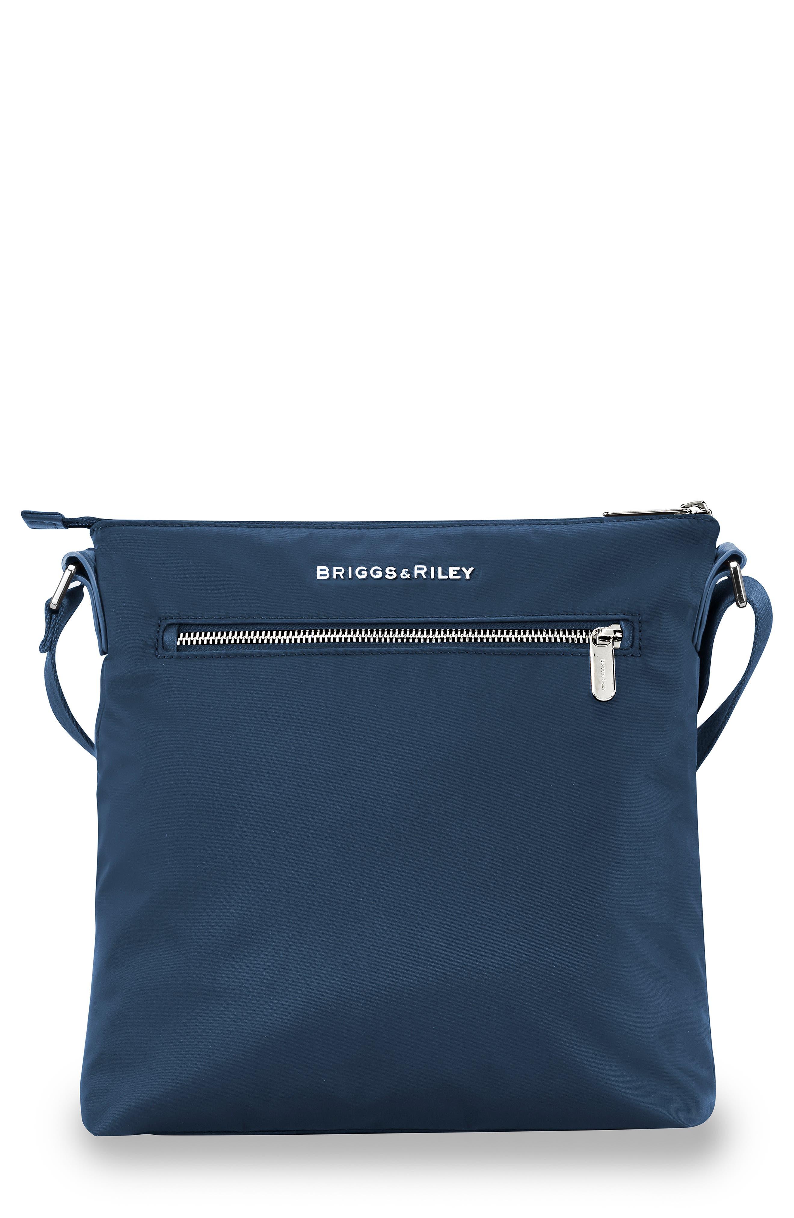 Rhapsody Water Resistant Nylon Crossbody Bag