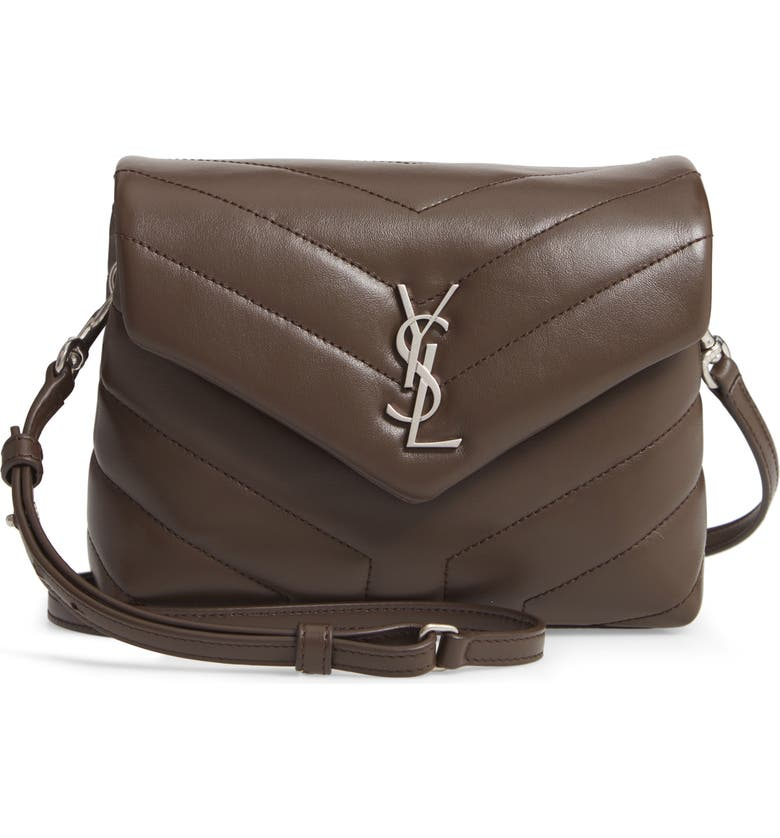 9f238f5d78 Saint Laurent Toy Loulou Calfskin Leather Crossbody Bag | Nordstrom