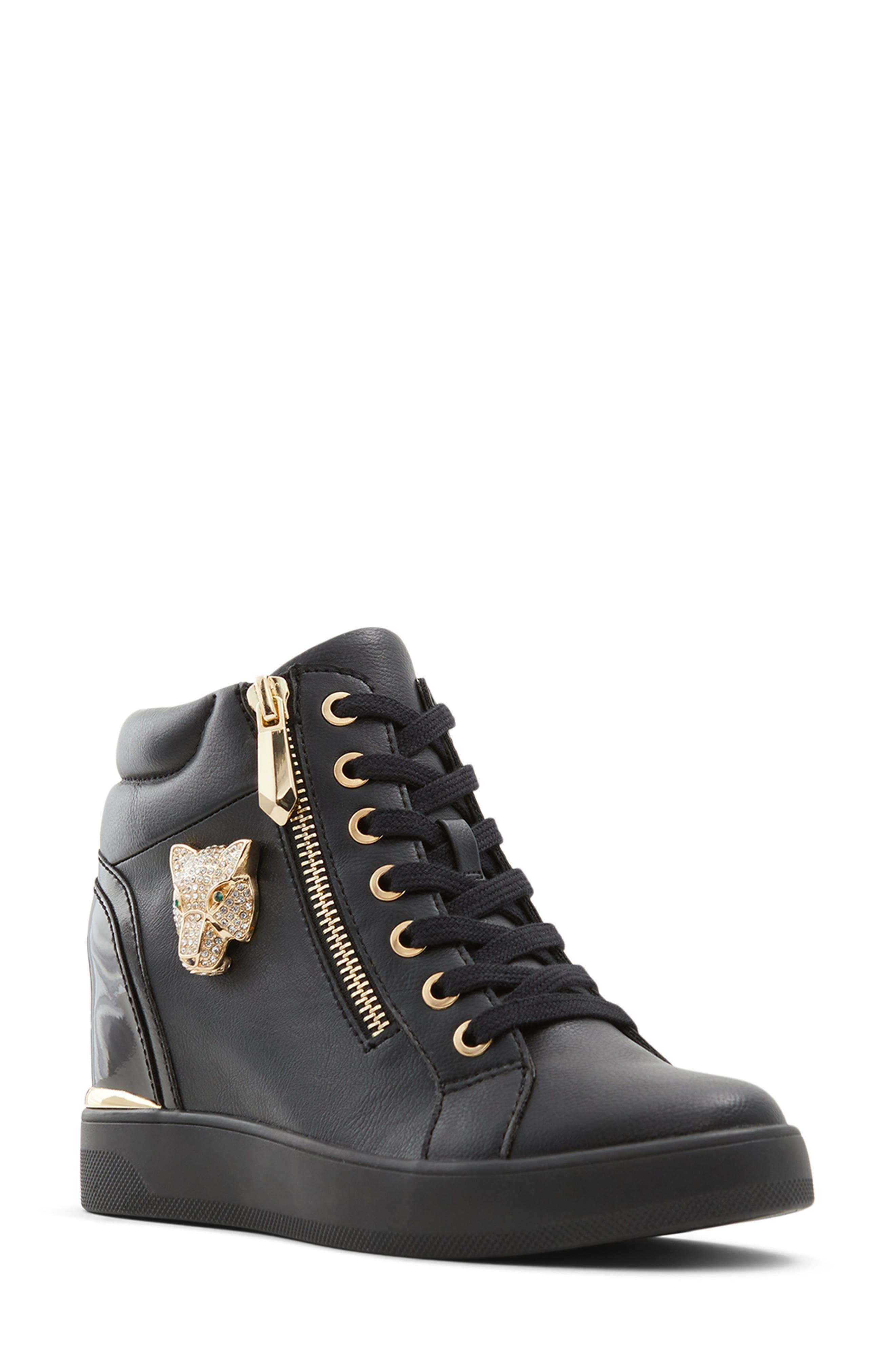 Aloivu Wedge High Top Sneaker