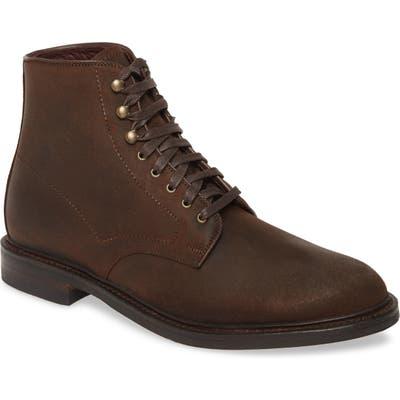 Allen Edmonds Higgins Mill Plain Toe Boot, Brown