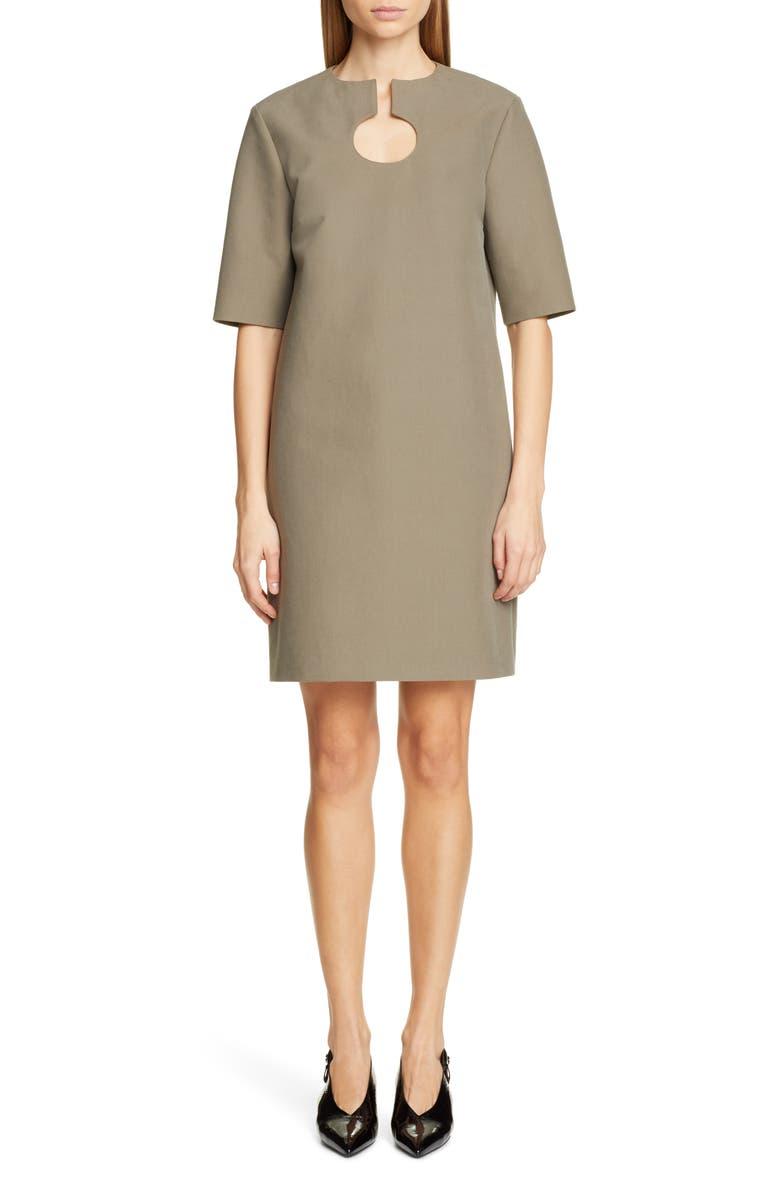 PARTOW Nina Cotton Dress, Main, color, SAGE