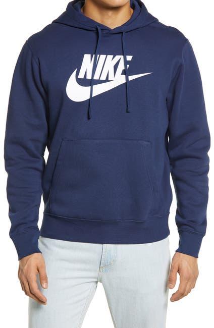 Image of Nike Club Fleece Drawstring Hoodie