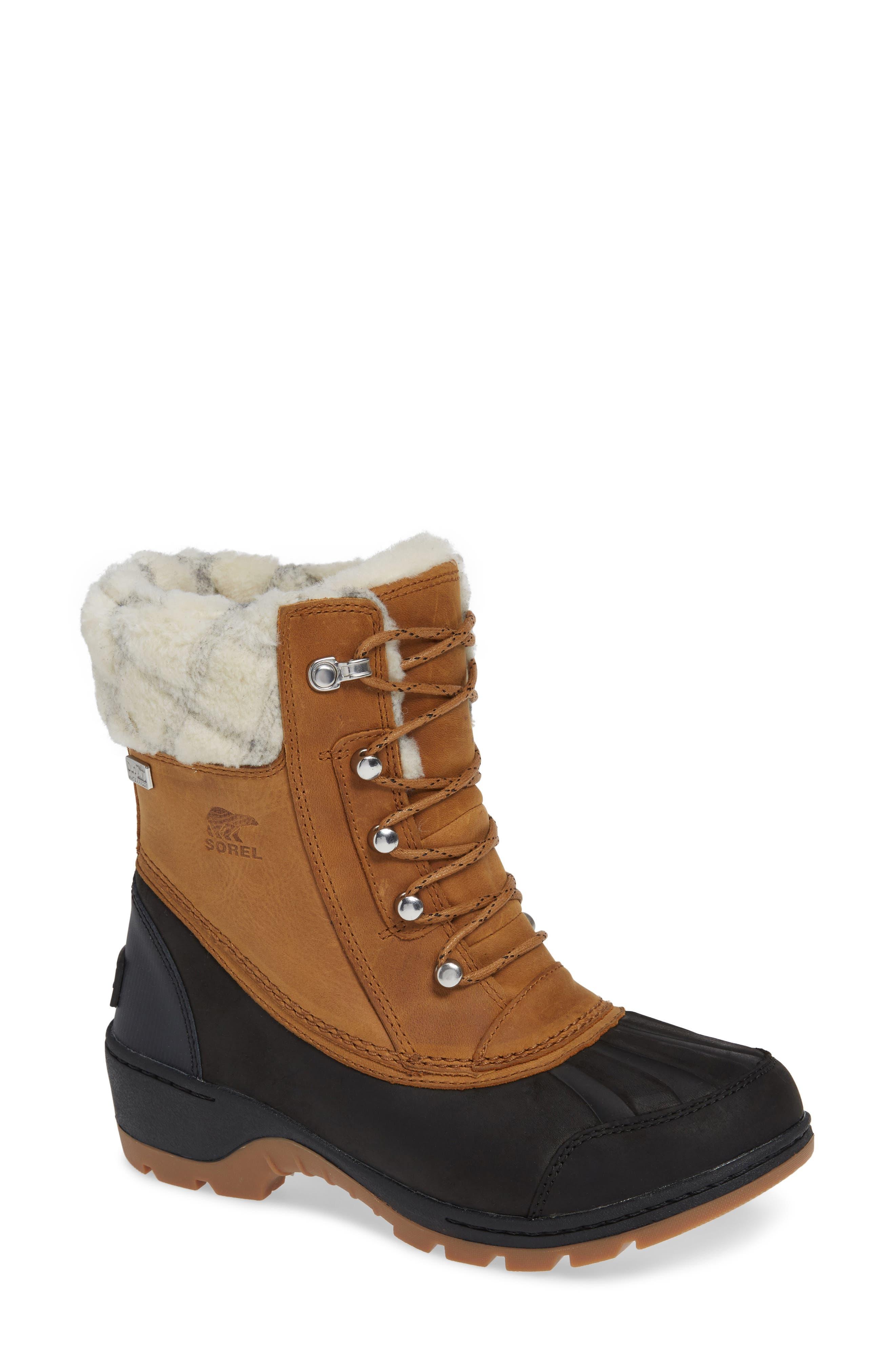 Sorel Whistler(TM) Waterproof Insulated Boot, Brown