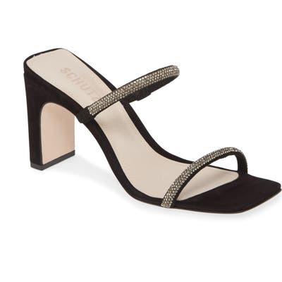 Schutz Salwa Slide Sandal, Black