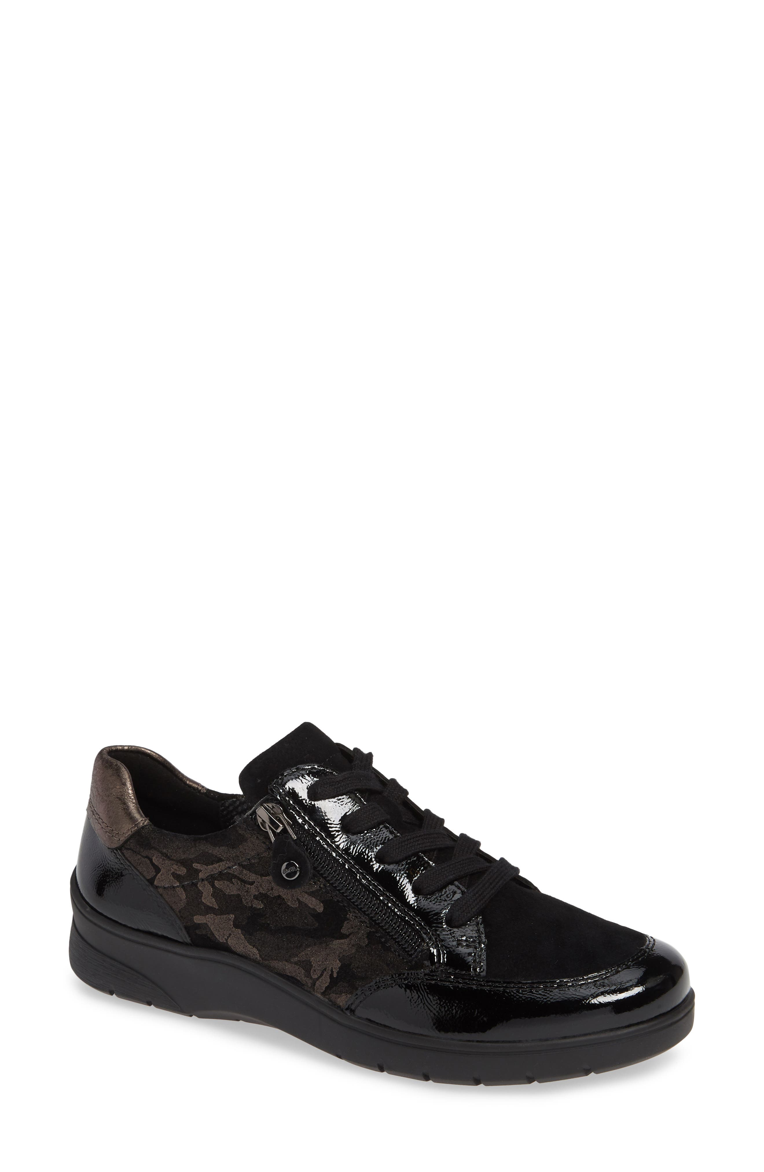 Ara Sloane Sneaker, Black