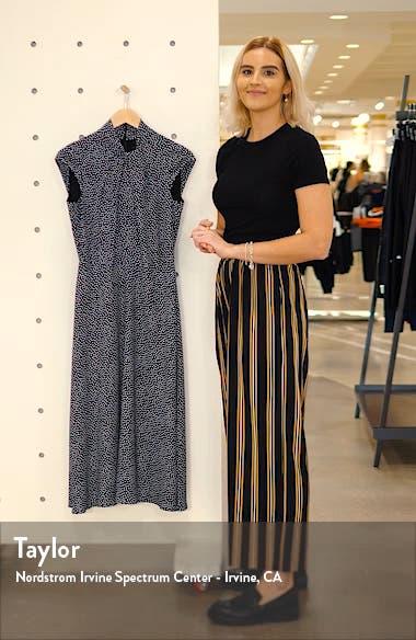 Pisa Dot Cap Sleeve Midi Dress, sales video thumbnail