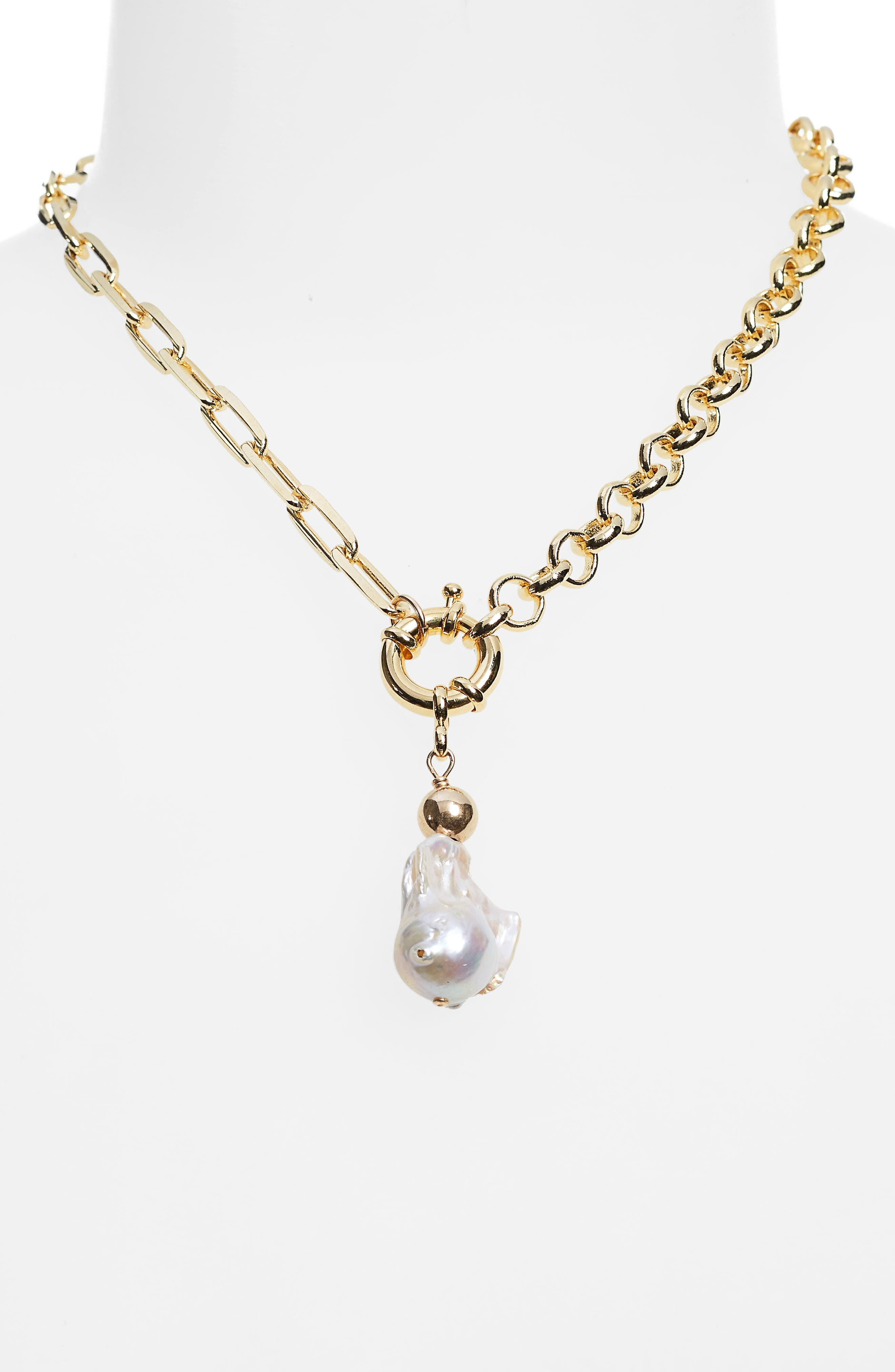 Women's Eliou Maraba Baroque Pearl Necklace (Nordstrom Exclusive)