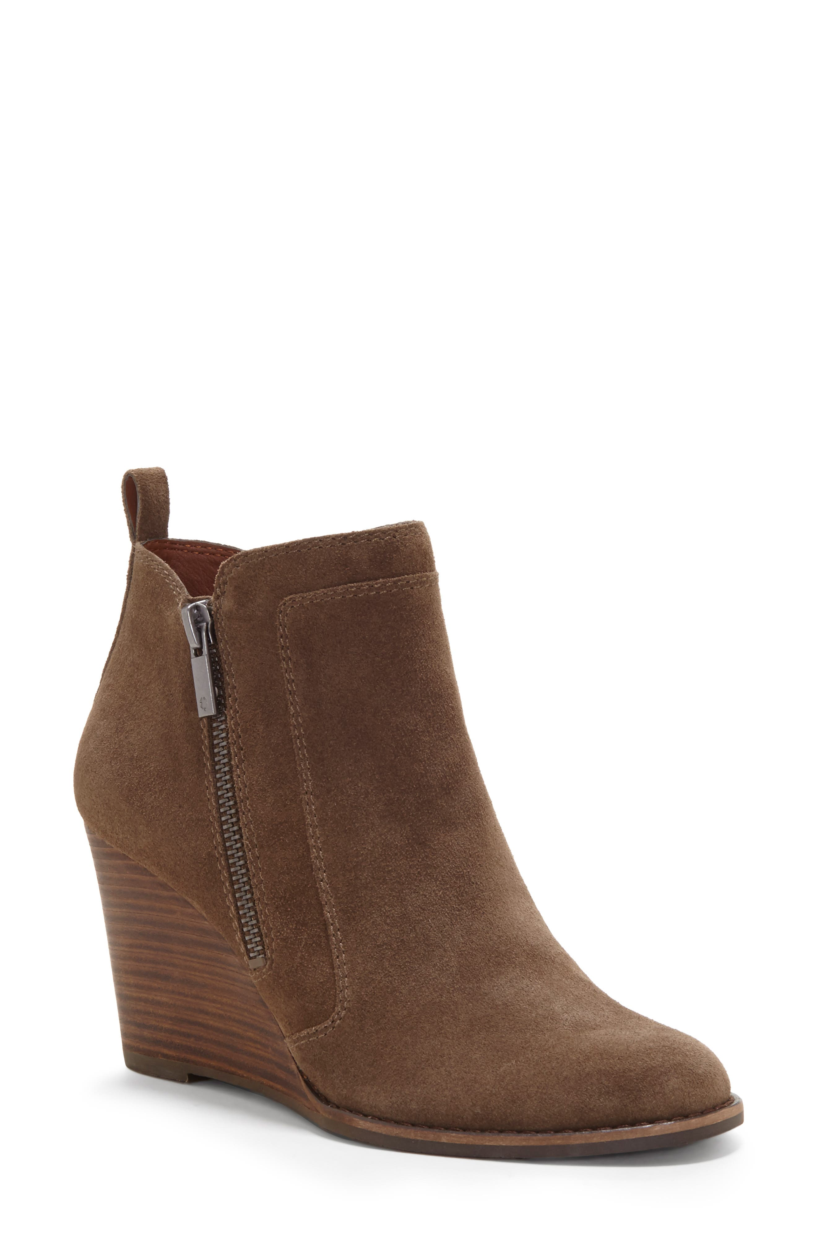 Lucky Brand Yahir Wedge Bootie, Green