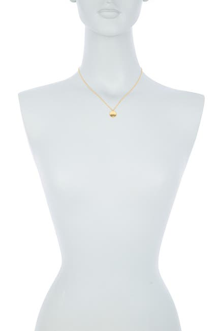 Image of Gurhan 22K Gold Monarch Disc Pendant Necklace