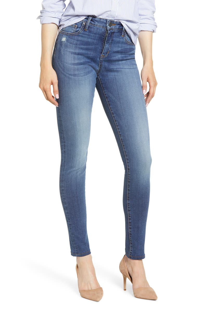 KUT FROM THE KLOTH Mia High Waist Skinny Jeans, Main, color, VISUAL