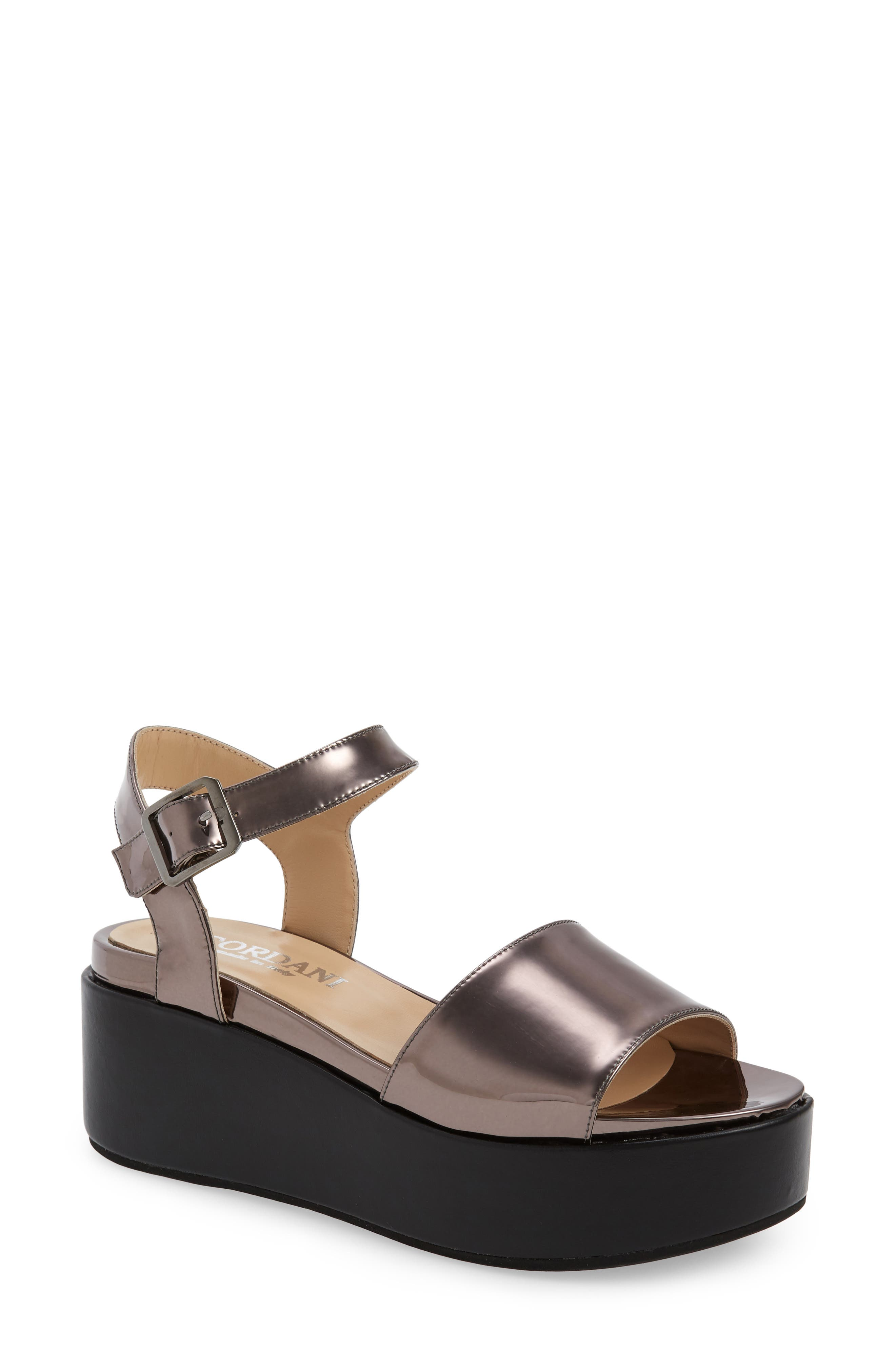 Elevate every step you take in this striking platform sandal crafted with a cushy footbed and a rocker sole that provides even, natural support as you walk. Style Name: Cordani Karrie Platform Sandal (Women). Style Number: 5789048 1. Available in stores.
