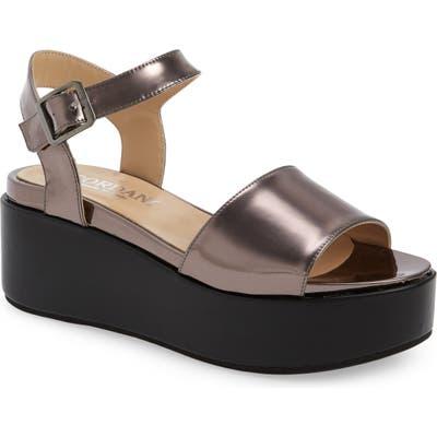 Cordani Karrie Platform Sandal, Metallic