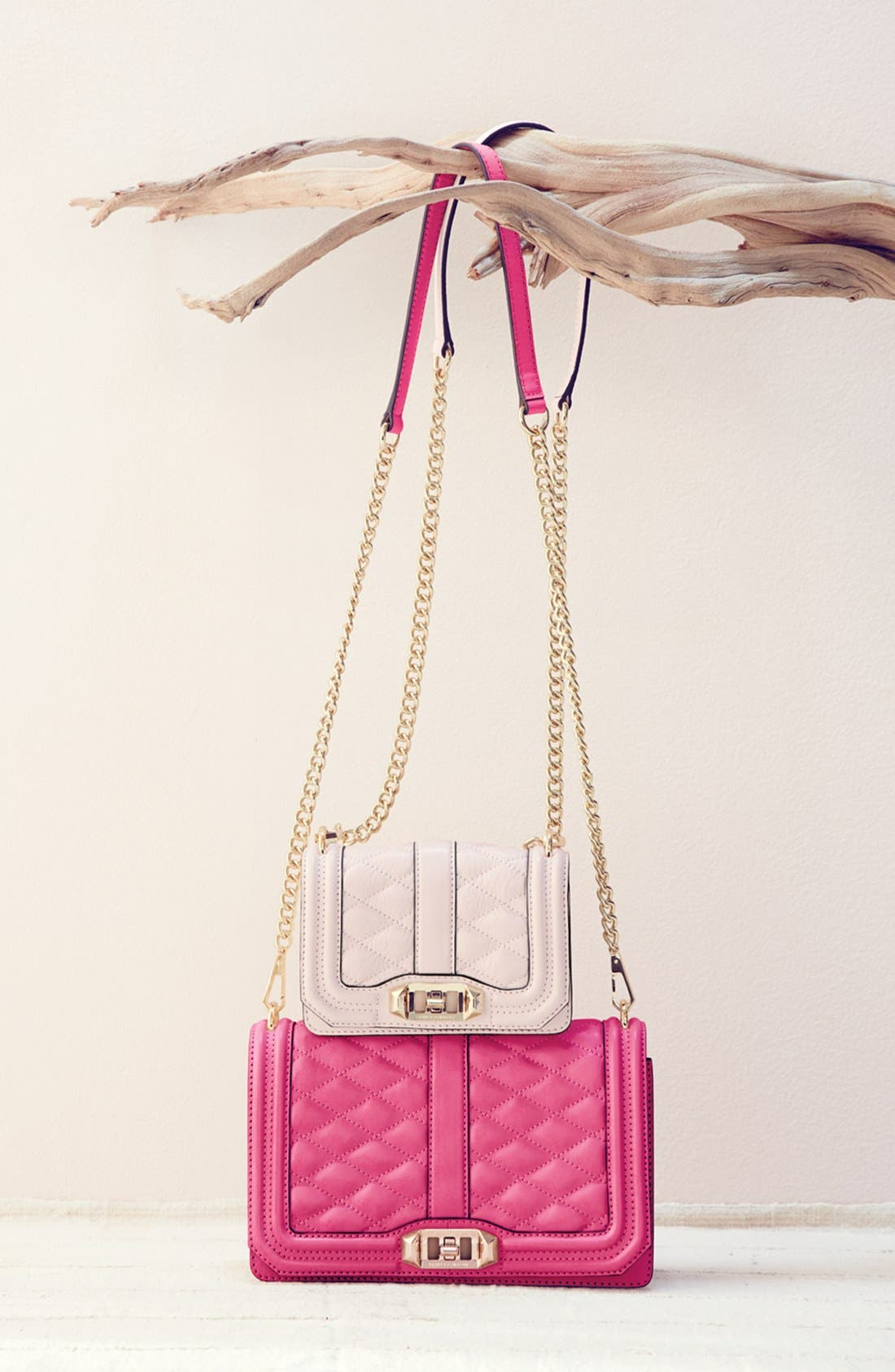 Love Leather Crossbody Bag, Main, color, 003
