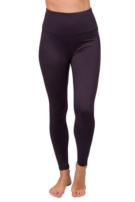 Image of 90 Degree By Reflex Soft Tech Fleece Lined High Rise Leggings
