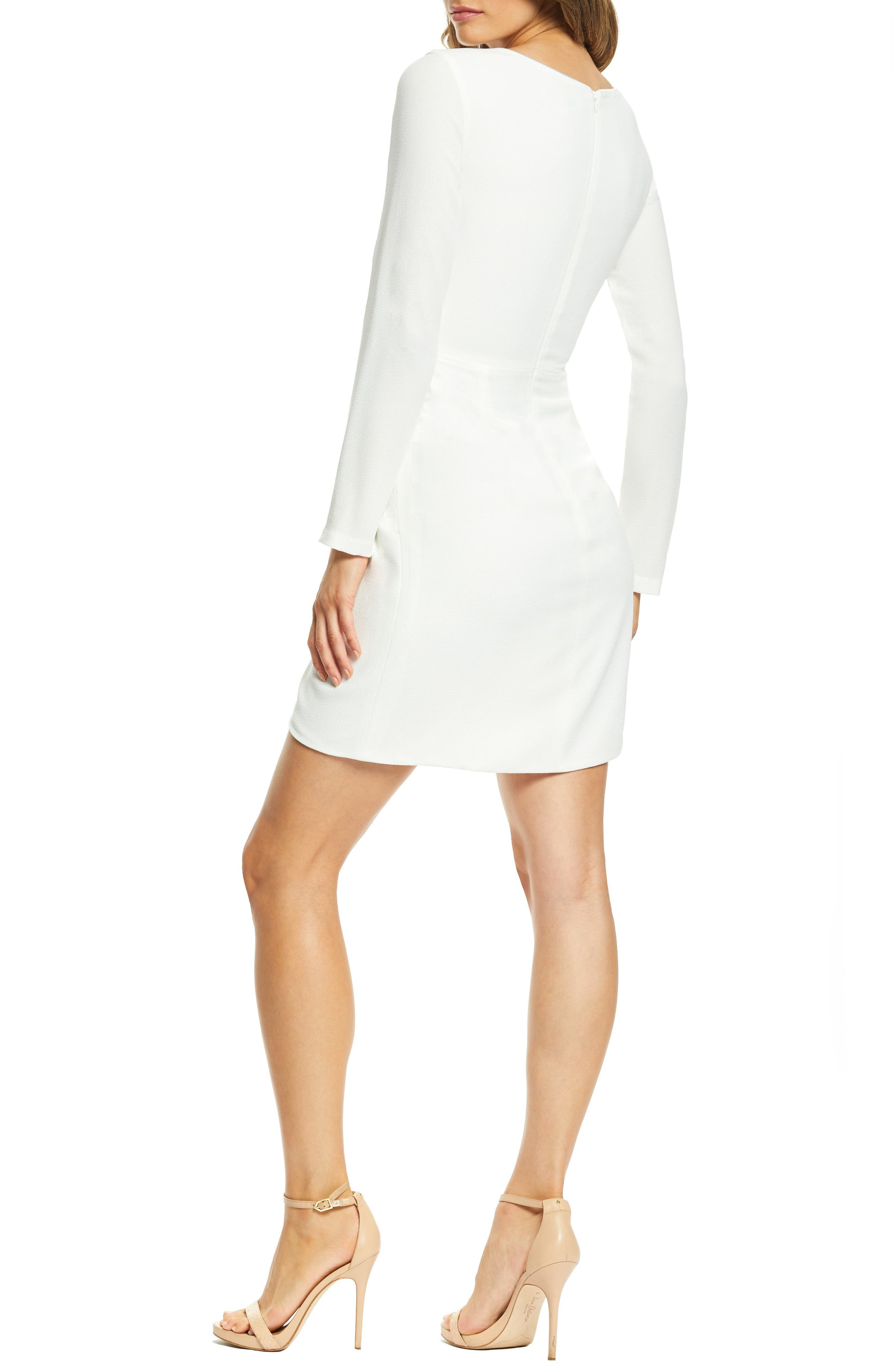 ,                             Coby Twisted Faux Wrap Cocktail Dress,                             Alternate thumbnail 21, color,                             900