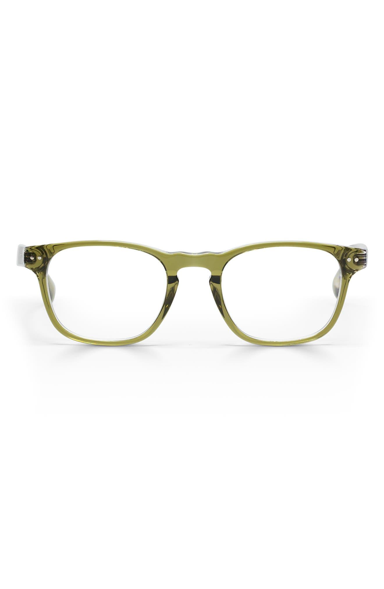 Old Sport 48mm Rectangular Reading Glasses