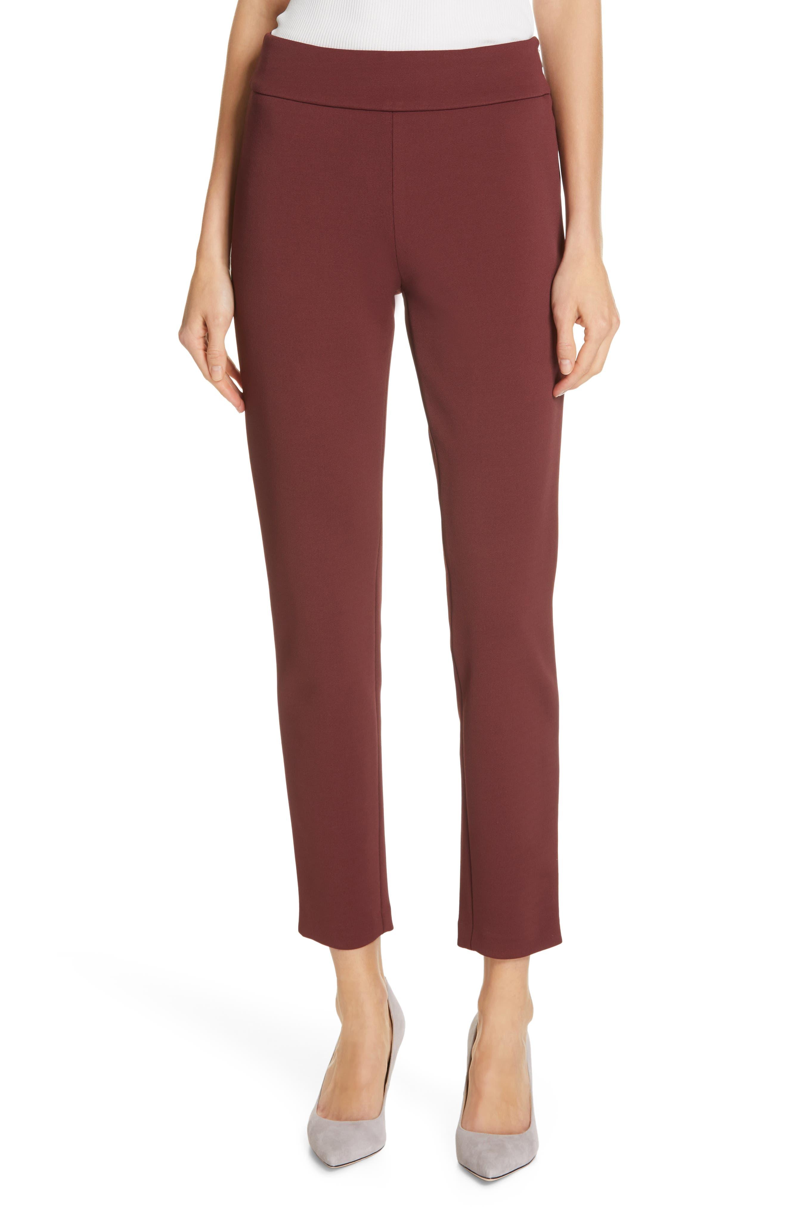 Boss Pants Telesta Slim-Leg Jersey Trousers