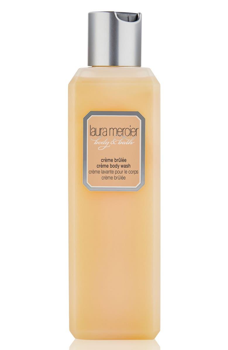 LAURA MERCIER Crème Brûlée Body Wash, Main, color, 000