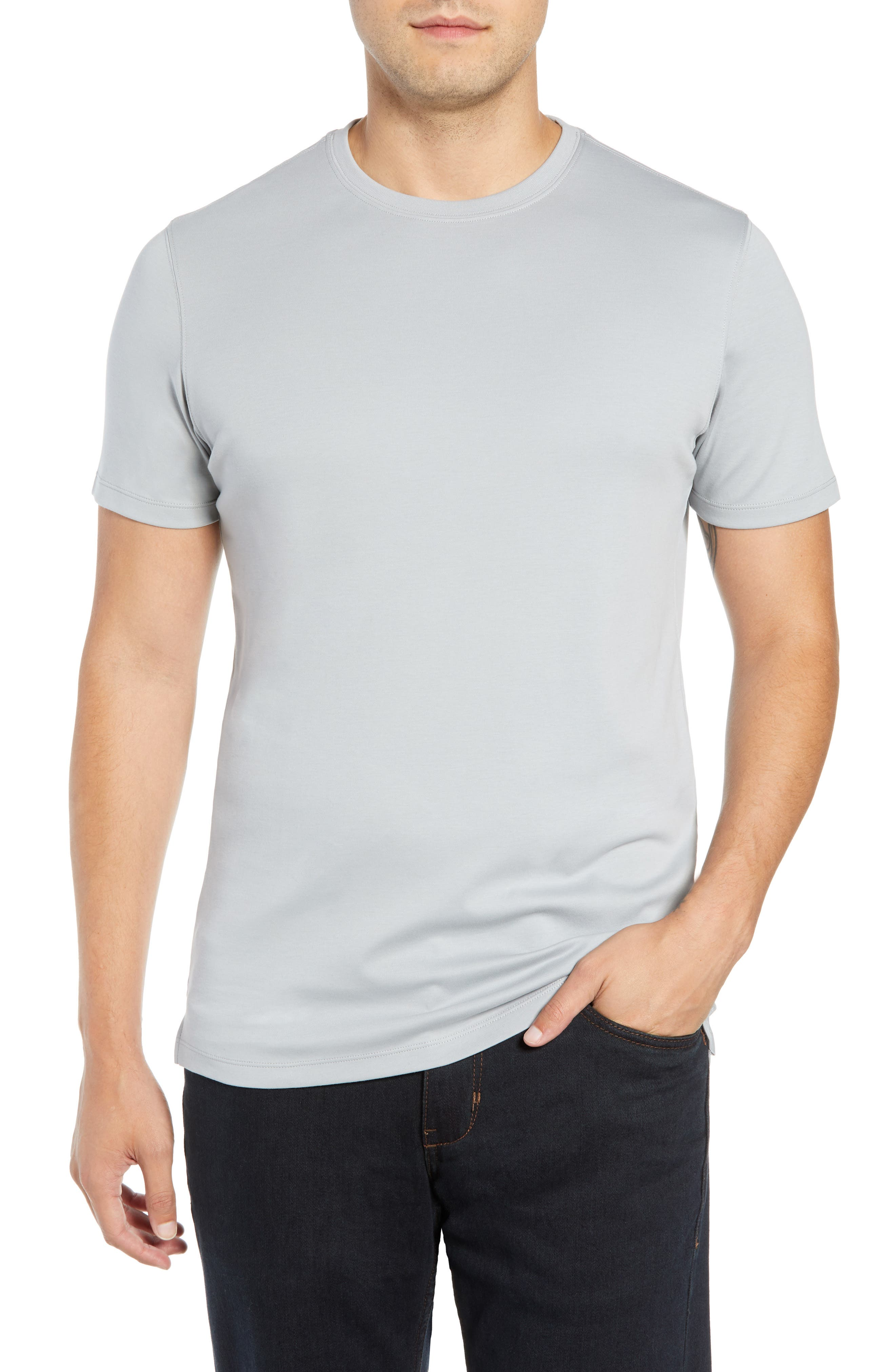 ,                             Georgia Crewneck T-Shirt,                             Main thumbnail 42, color,                             058