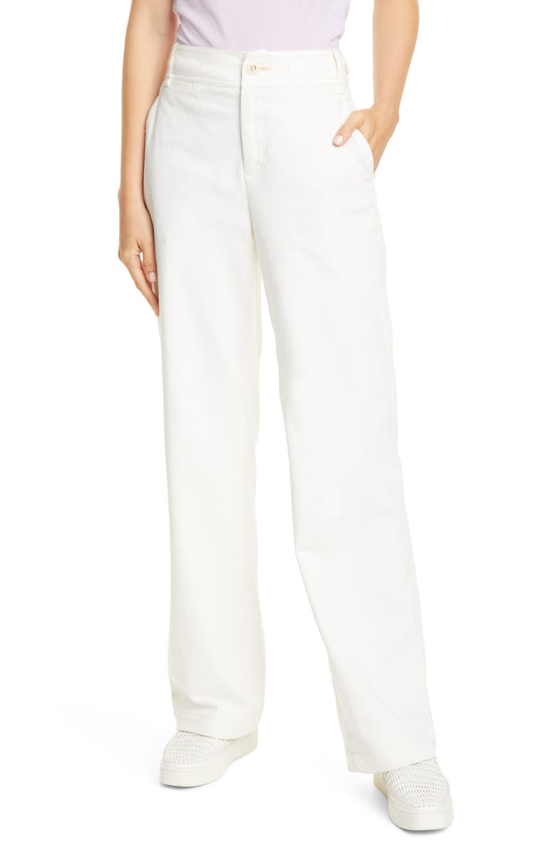 VINCE Utility Pants, Main, color, CREME