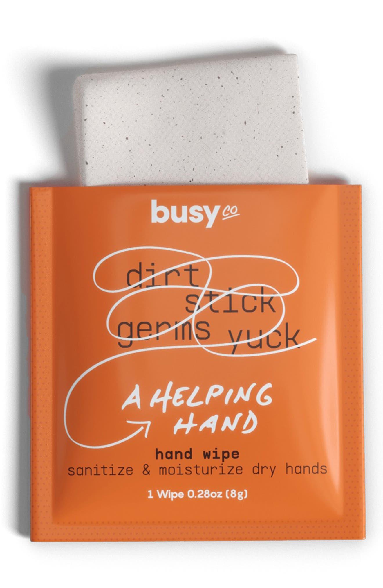 Hydrating Hand Sanitizing Wipes