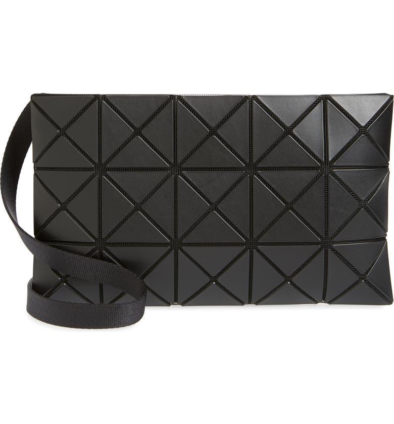 BAO BAO ISSEY MIYAKE Small Lucent Matte Crossbody Bag, Main, color, MATTE BLACK
