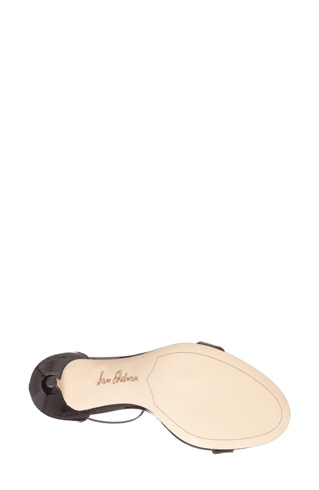 ,                             'Patti' Ankle Strap Sandal,                             Alternate thumbnail 141, color,                             002