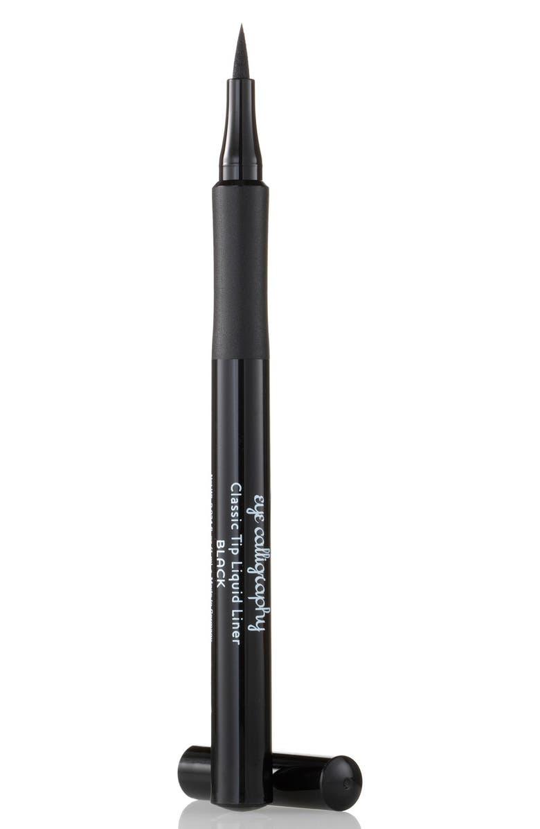 LAURA GELLER BEAUTY Eye Calligraphy Eyeliner Marker, Main, color, BLACK