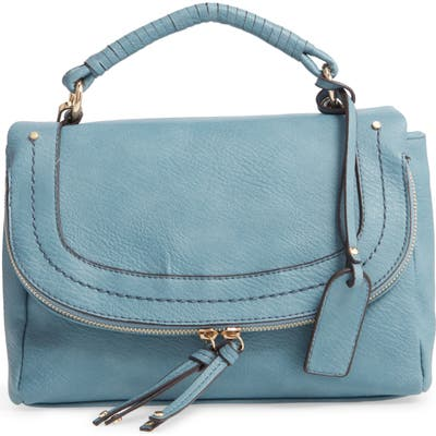 Sole Society Rubie Top Handle Bag - Blue