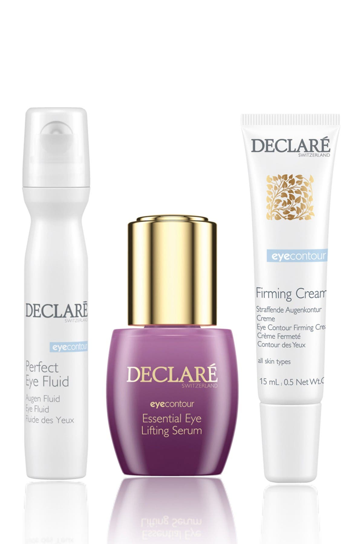 Image of DECLARE Anti-Wrinkle Eye 3-Piece Skincare Set