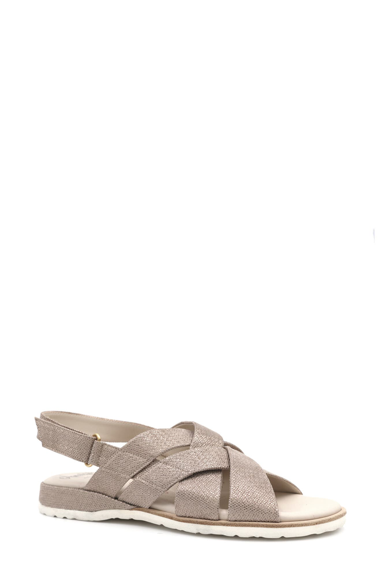 Biondina Textured Sandal