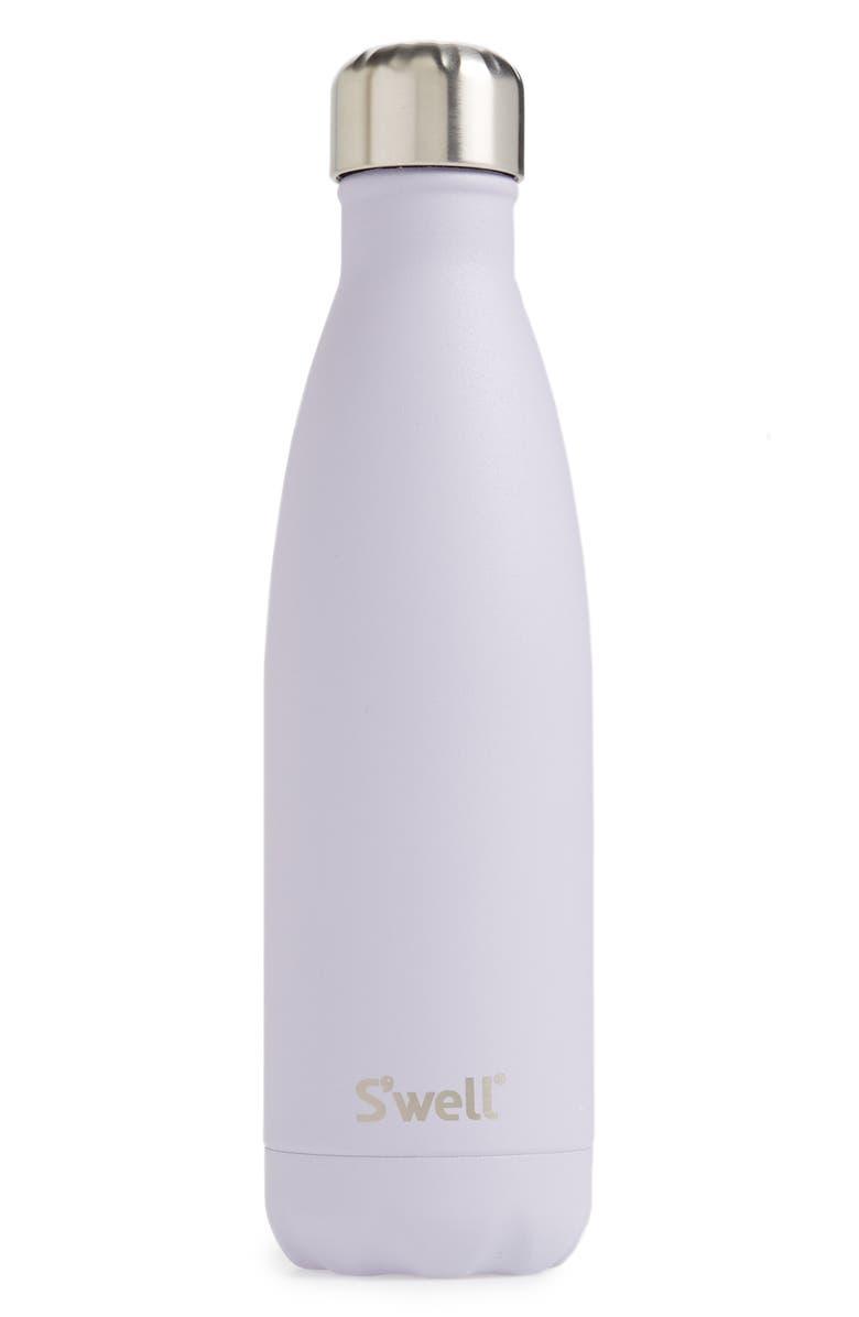 S'WELL Purple Garnet Insulated Stainless Steel Water Bottle, Main, color, PURPLE GARNET