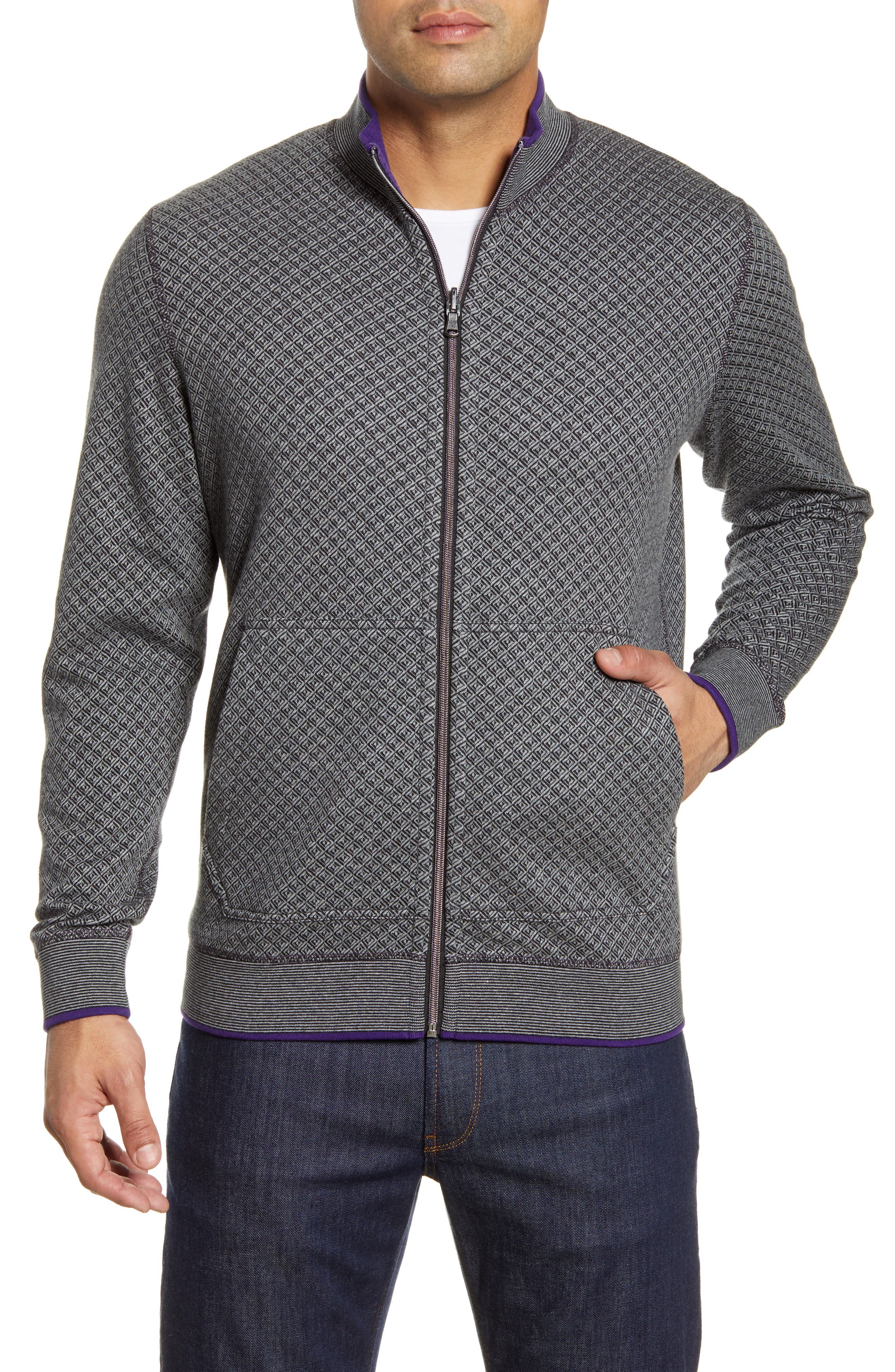 Image of Robert Graham Reversible Double Knit Jacket