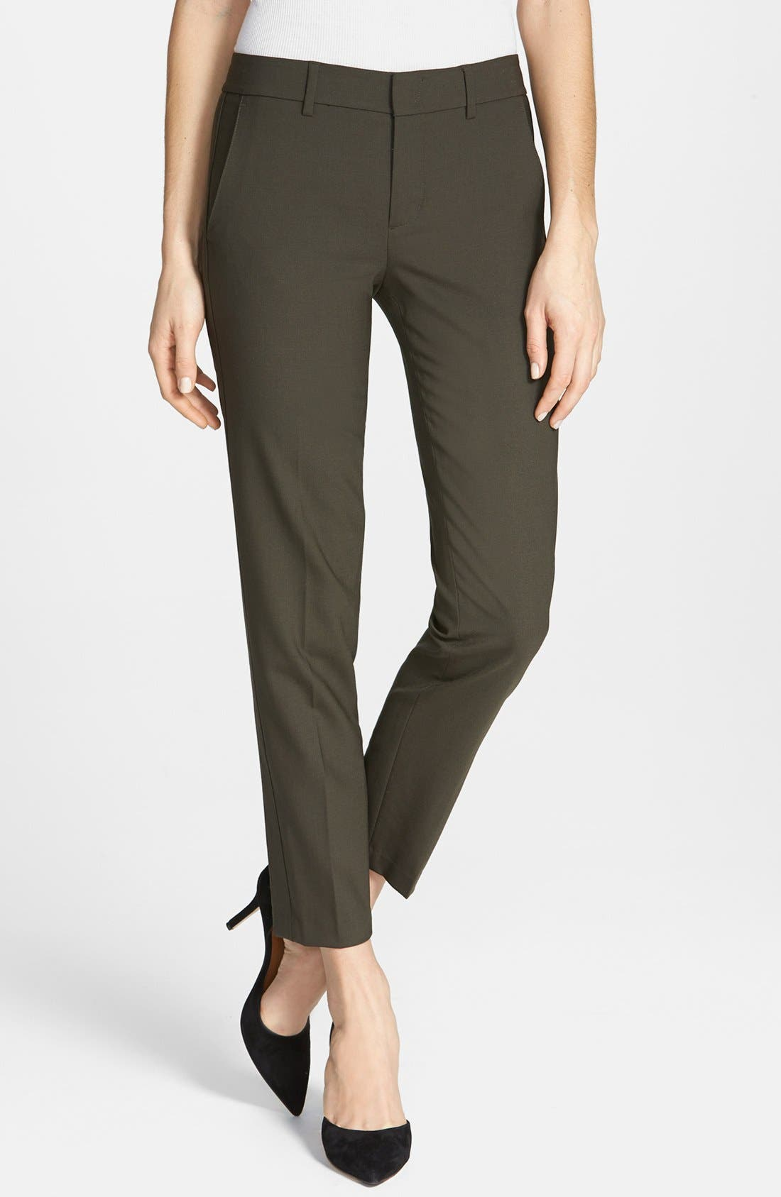 ,                             'Strapping' Stretch Wool Trousers,                             Main thumbnail 5, color,                             020