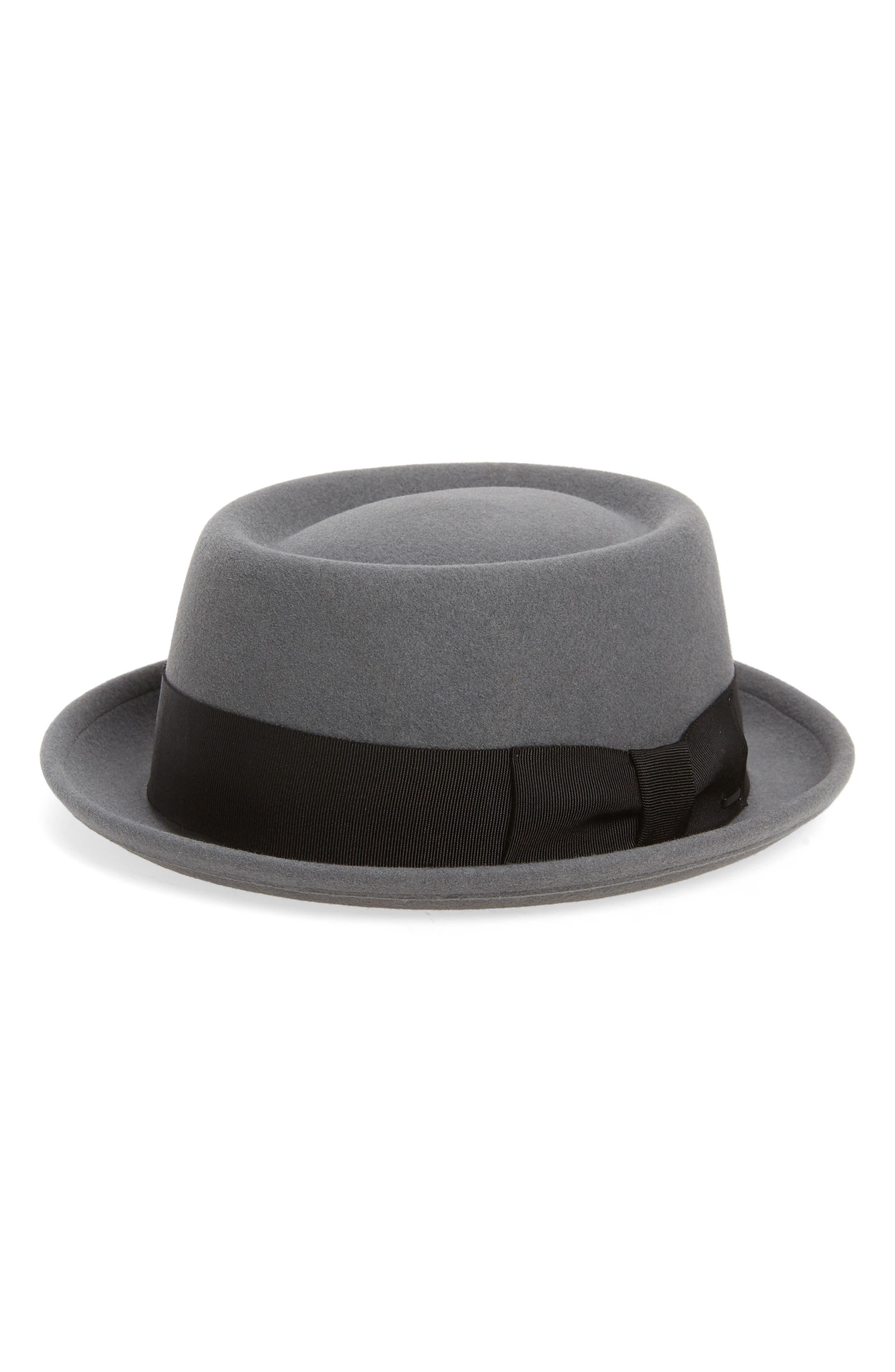 'Darron' Wool Felt Pork Pie Hat