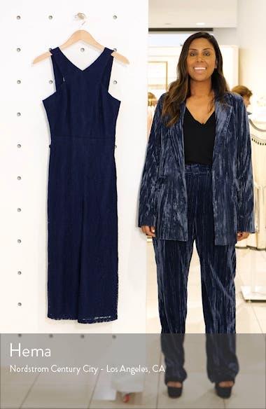 Carissa Lace Crop Jumpsuit, sales video thumbnail