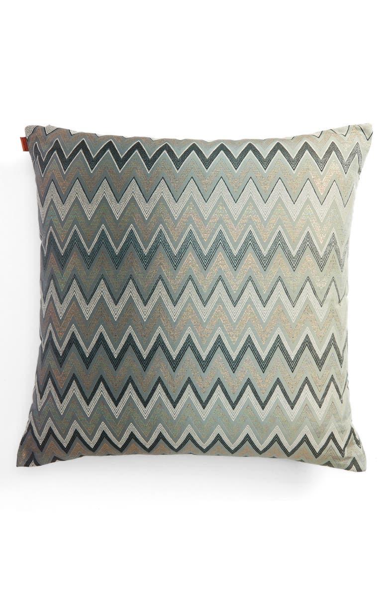 MISSONI Taipei Accent Pillow, Main, color, MULTI BLUE
