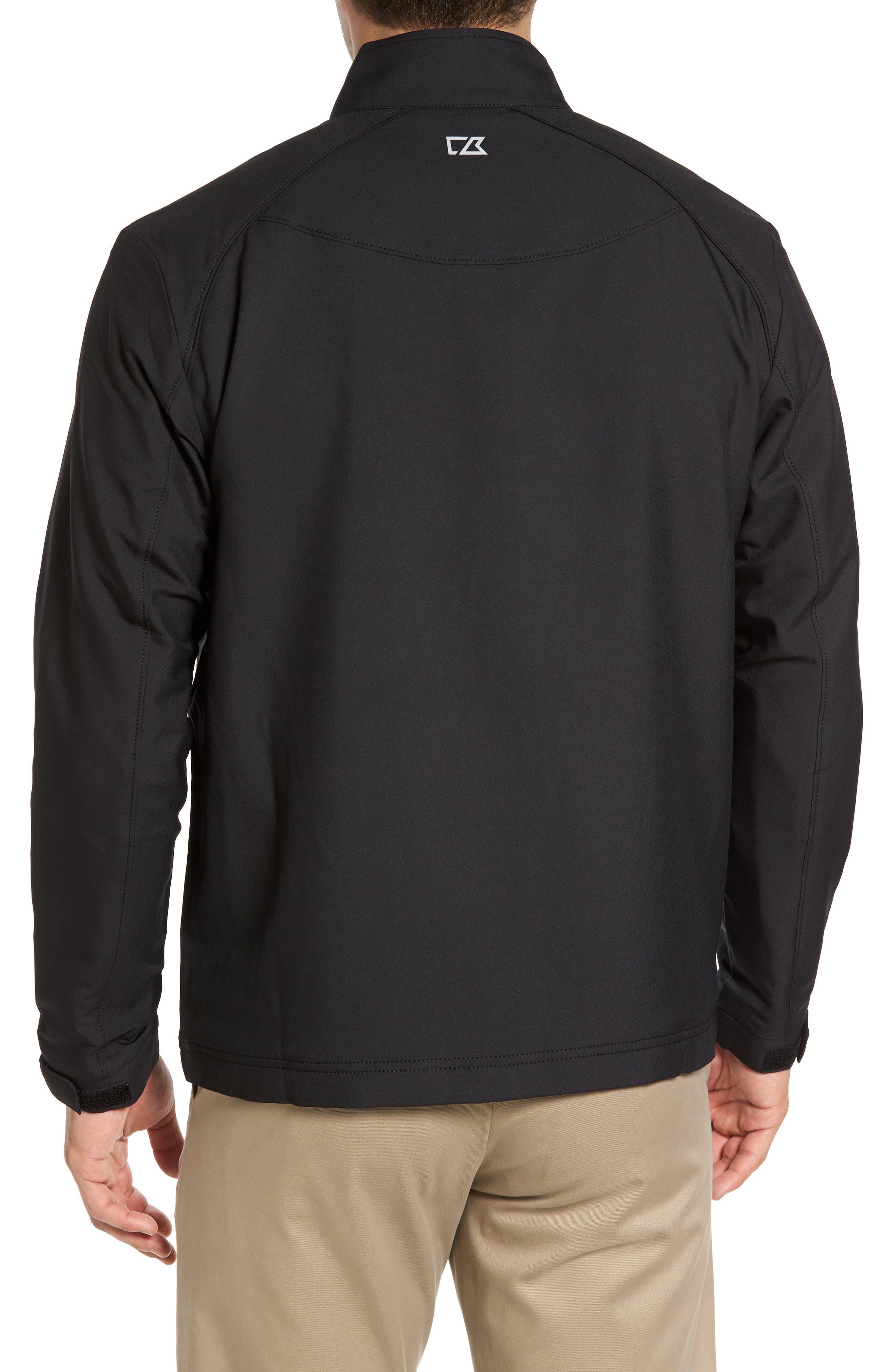 ,                             'Blakely' WeatherTec<sup>®</sup> Wind & Water Resistant Full Zip Jacket,                             Alternate thumbnail 2, color,                             BLACK