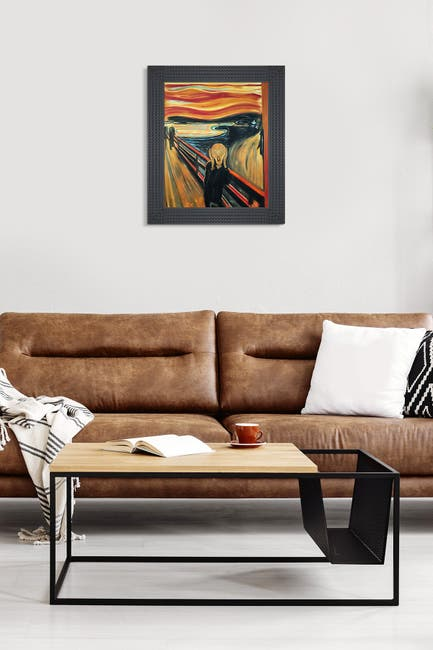 Image of Overstock Art The Scream - Framed Oil Reproduction of an Original Painting by Edvard Munch