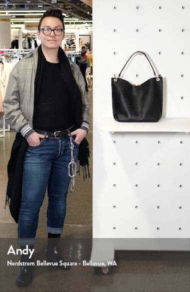 Candiee Bow Leather Hobo, sales video thumbnail