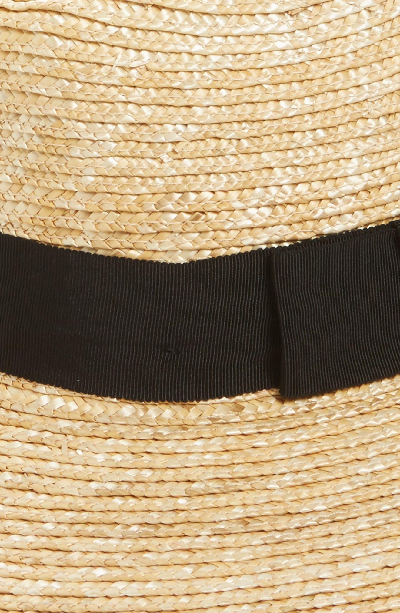 ,                             'Joanna' Straw Hat,                             Alternate thumbnail 2, color,                             HONEY