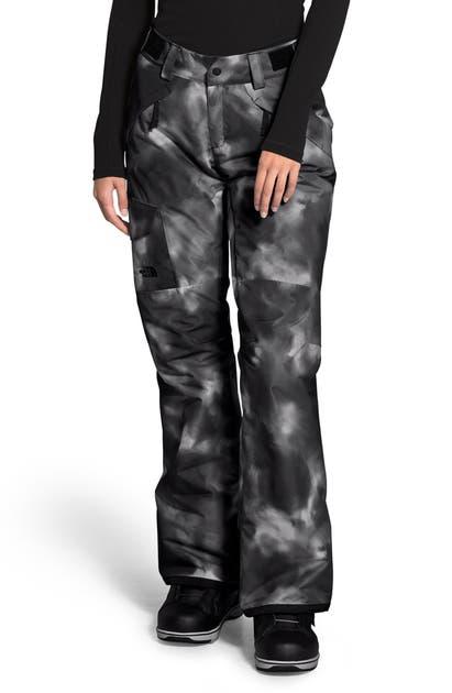 The North Face Freedom Waterproof Insulated Pants In Tnfblkinkblurpt
